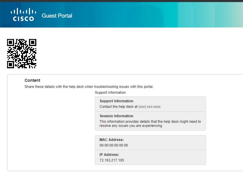 ISE Portals General Customization Optio    - Cisco Community