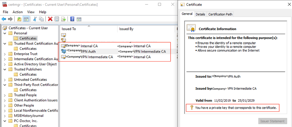 Solved: Certificate Auth not validating client     - Cisco Community