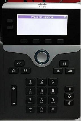 Solved: IP phone can not register after switch     - Cisco