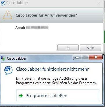 Jabber 12 5 1 Crash when use phone with    - Cisco Community