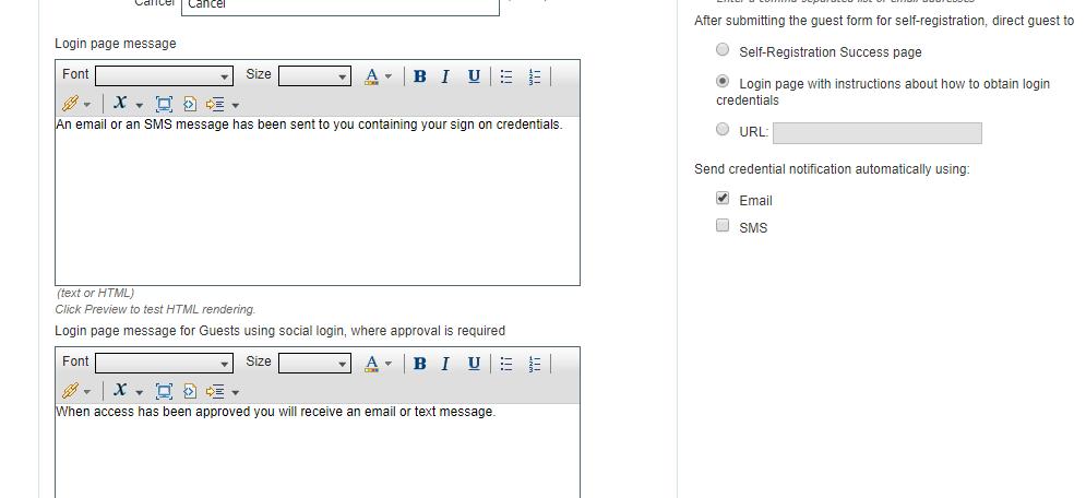 Solved: ISE 2 3 Guest Login portal custom messa    - Cisco Community