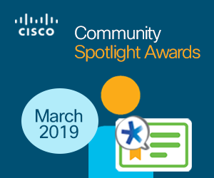 Spotlight awards-March 2019