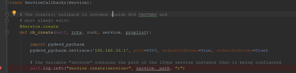 How to debug NSO service/action with Py    - Cisco Community