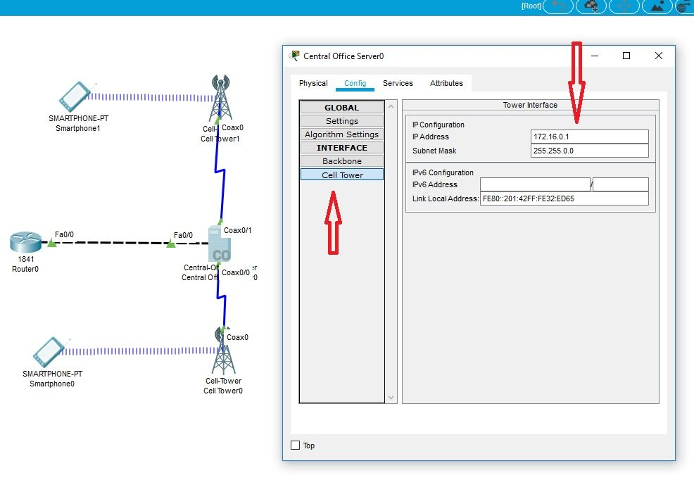 How to configuring a cell tower on Cent    - Cisco Community