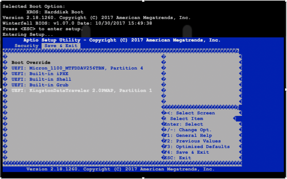 NCS5500 GISO Boot via USB - Cisco Community
