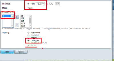 Solved: sg350-10p 3 VLANs for unfi AP on to 1 p    - Cisco