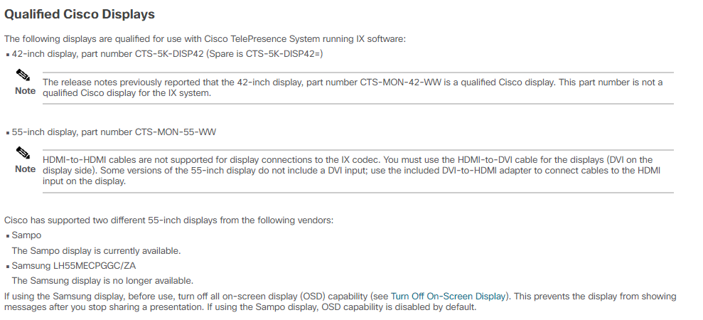 Cisco IX5000 AUX Display not working - Cisco Community
