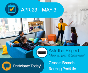 ask the Expert- Cisco's Branch Routing Portfolio