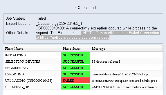 CSPC ACL Updates - Cisco Community
