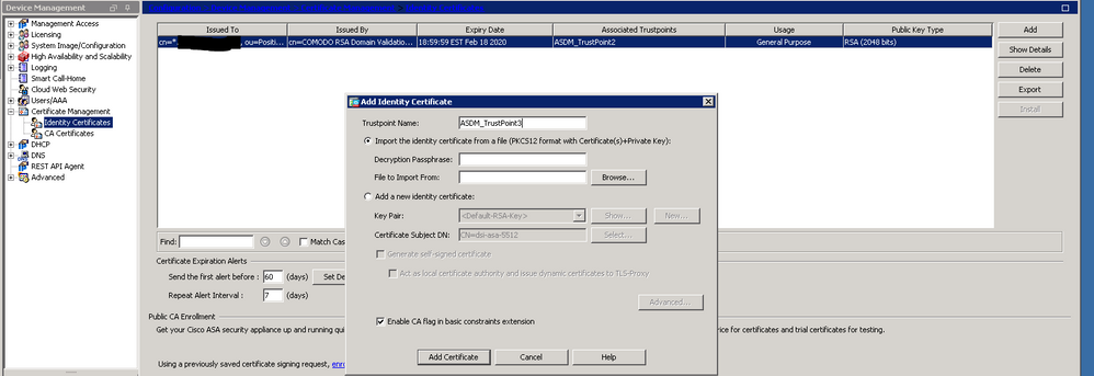 Solved Ssl Certificate Renewal Instructions Cisco Community