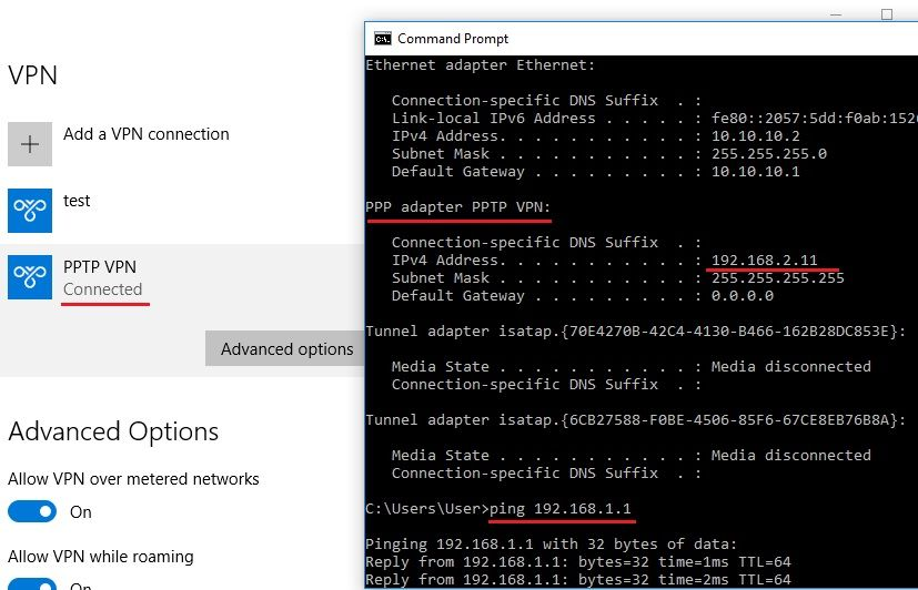 PPTP VPN configuration on RV340/345 rou    - Cisco Community