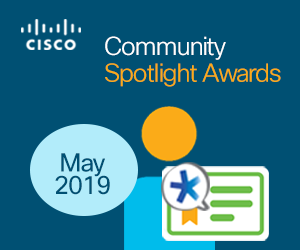 Community May's Spotlight Awards