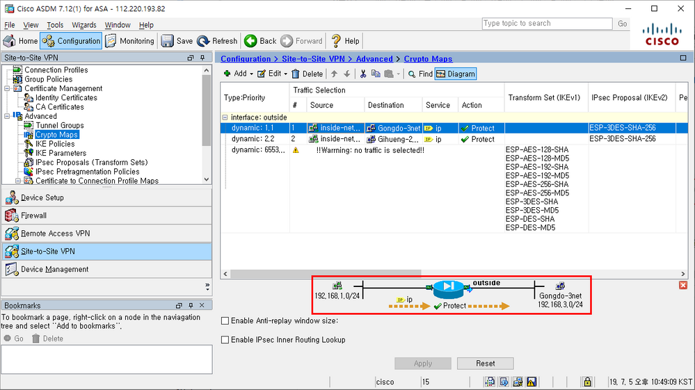 Solved: ASA L2L session is normal ?? - Cisco Community