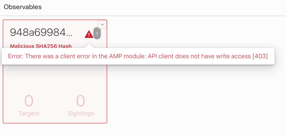 AMP error - API key.png
