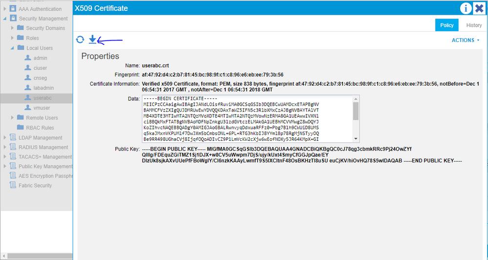 Cisco APIC Signature Based Transactions    - Cisco Community