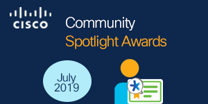 July's Community Spotlight Awards