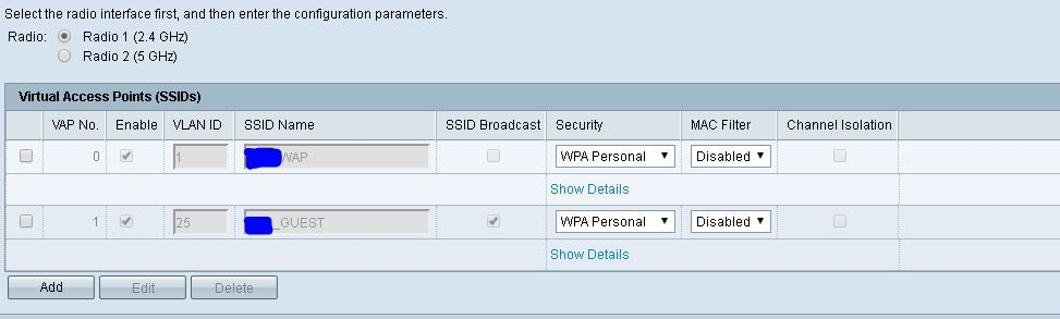 2nd VLAN for Guest Wifi set up using CI    - Cisco Community