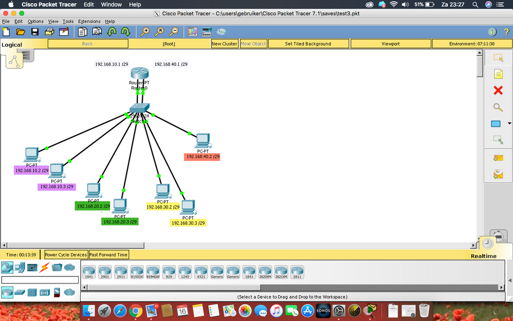 General (packet tracer) network problem - Cisco Community