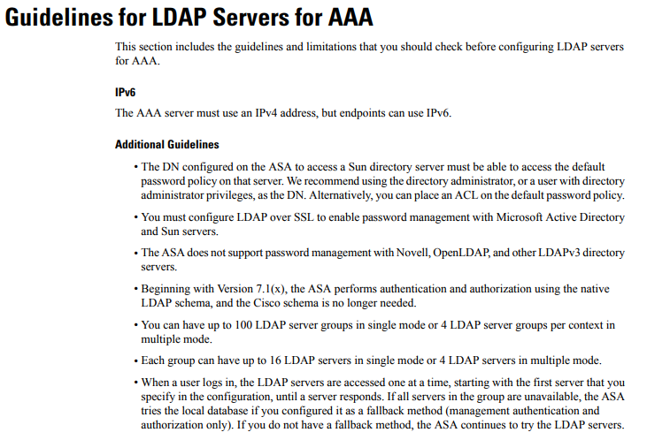 ASA 5555 with LDAP over TLS 1.2 not wor... - Cisco Community