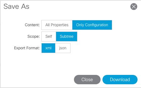 ACI Automation Part 6 - ACI Configurati    - Cisco Community