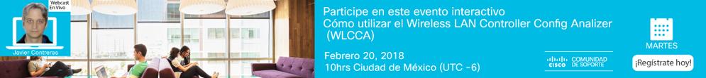 Webcast- Cómo utilizar WLCC