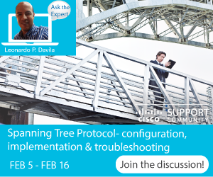 Ask the Expert- Spanning Tree