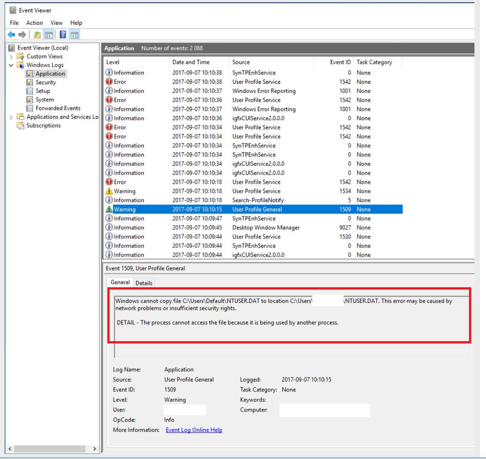 Proximity and Default user hive - Cisco Community
