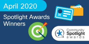 Cisco Community April 2020 Spotlight Award Winners