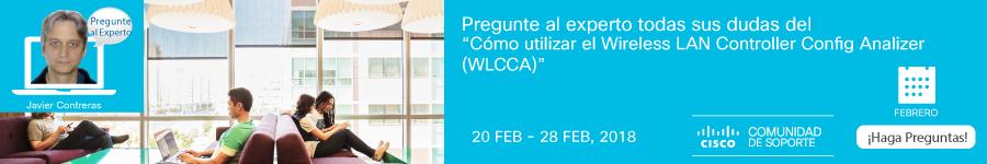 Pregunte la experto - Cómo utilizar WLCCA