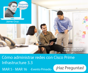 Pegunte al Experto-Cisco Prime Infrastructure