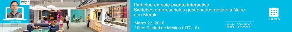 Webcast-Meraki Switches