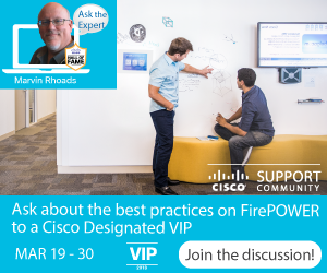 Ask the Expert- best practices on Firepower