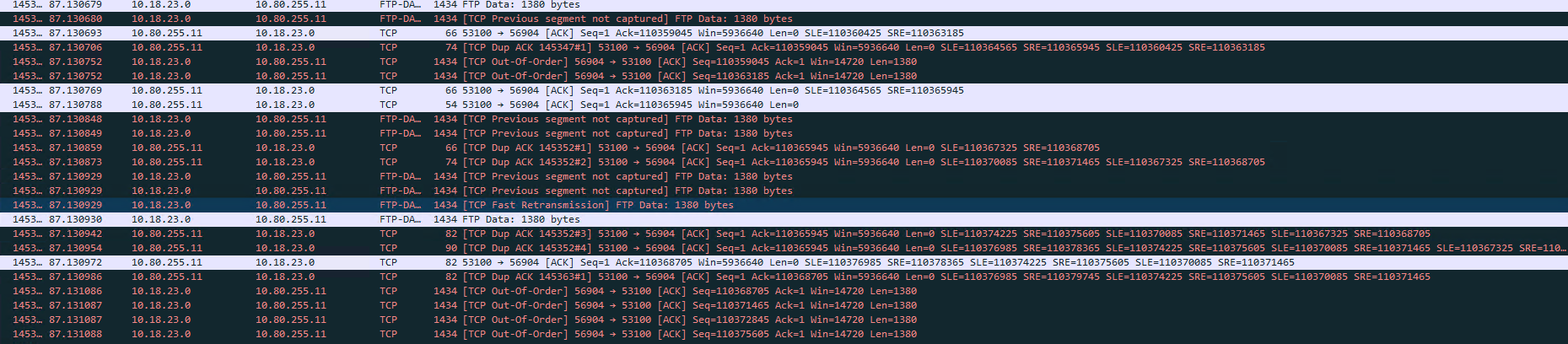 Solved: Slow throughput over MPLS between windo    - Cisco