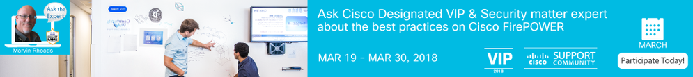 Ask the Expert-Best practices on Cisco FirePOWER