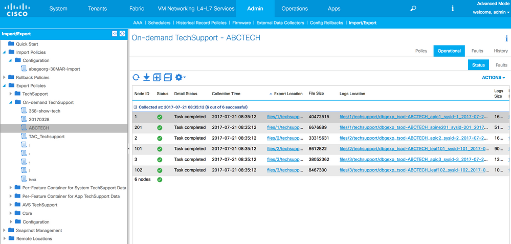 Generating and Downloading TechSupport     - Cisco Community