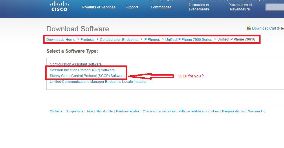 TFTP IP Phone 7961 not working - Page 2 - Cisco Community